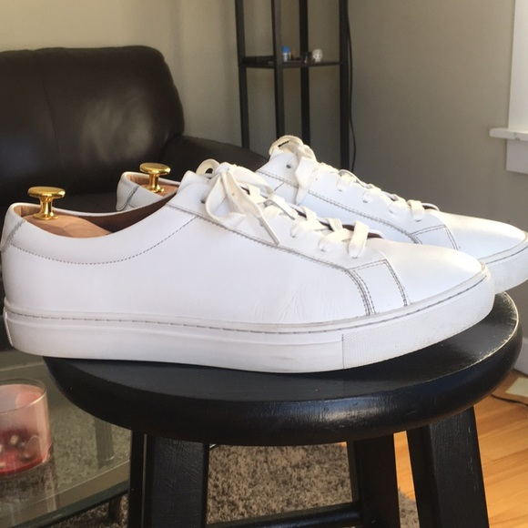 Republic Kurt White Leather Sneaker